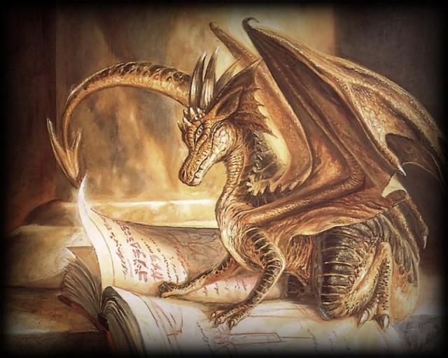 Golden-Dragon-Reading-Book